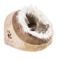 Plyšový pelech Minou pro psy a kočky - 35 x 26 x 41 cm