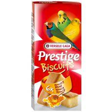 Odměna pro ptáky Prestige Biscuits 6 ks - piškoty s medem
