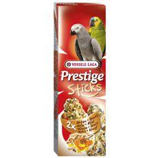 Tyčinky pro papoušky PRESTIGE STICKS 2 ks - ořechy a med, 140g