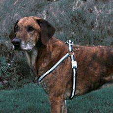 Reflexní postroj pro psa - blikající, velikost M-L