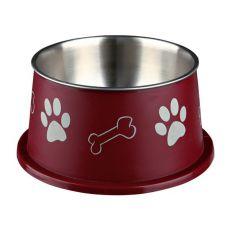 Miska pro psy s dlouhýma ušima, hnědá - 0,9 l