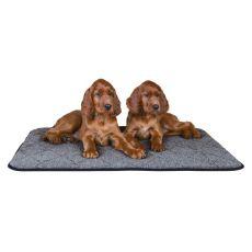Termo podložka pro psa, šedá - 90 x 70 cm