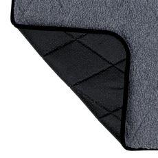 Termo podložka pro psa, šedá - 80x60cm