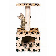 Drápadlo s pelechem pro kočky Zamora - 31x31x61 cm