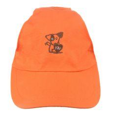 Čepice pro psa YAP Dog, oranžová - 15 cm