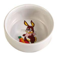 Keramická miska pro králíky 300 ml / 11 cm
