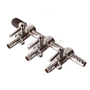 Rozvodka na hadičku 4/6mm - se škrtítkem 3-směrová