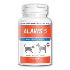 ALAVIS 5 Kloubní přípravek pro psy a kočky - 90 tablet