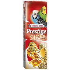 Tyčinky pro andulky Prestige Sticks 2ks - med
