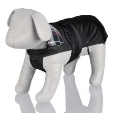 Kabát pro psa s flanelovým límcem - XS / 30-38 cm
