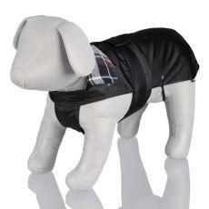 Kabát pro psa s flanelovým límcem - M / 50-70 cm