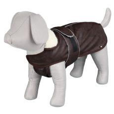 Kabát pro psa s límcem a reflexními prvky XS / 25-38 cm