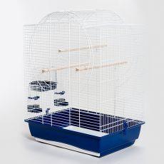 Klec pro papouška EMMA CABRIO bílá - 54 x 39 x 73 cm