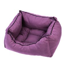 Pelech pro psa ve fialové barvě - M / 50x40x20 cm
