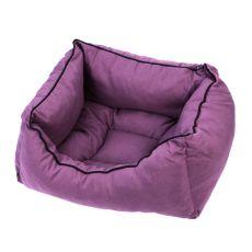 Pelech pro psa ve fialové barvě - L / 55x45x22 cm