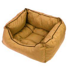Pelech pro psa v hnědé barvě - M / 50x40x20 cm