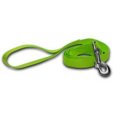 Vodítko pro psa - neonově zelené, 1,6 x 120 cm