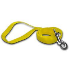 Vodítko pro psa - neonově žluté, 2 x 120 cm