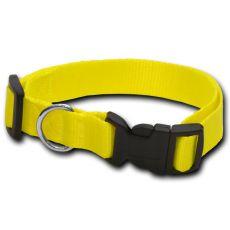 Obojek pro psa neon žlutý - 2 x 33-51 cm
