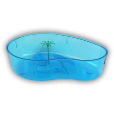 Terárium pro želvy s palmou - modré