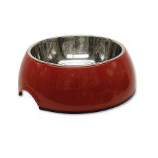 Miska pro psa DOG FANTASY,  0,70 l - červená