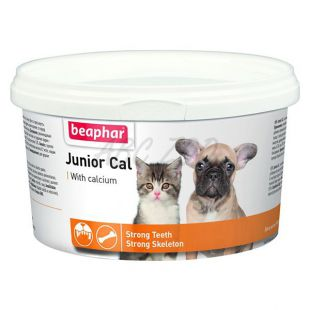Junior Cal - doplněk stravy pro štěňata a koťata, 200 g