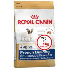 ROYAL CANIN FRENCH BULLDOG JUNIOR - 3 kg + 1 kg GRATIS