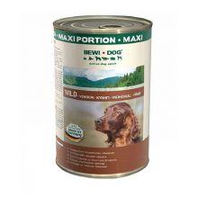 BEWI DOG, Zvěřina - 1200 g konzerva