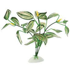 Hedvábná rostlina do akvária - plastová, 20 cm