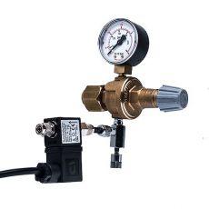 """Redukční ventil CO2 - W21,8x1/14""""+ jehlový a elektromagnetický ventil"""