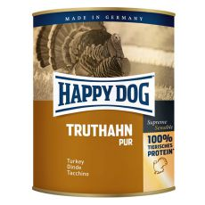 Happy Dog Pur - Truthahn 800g / krůta