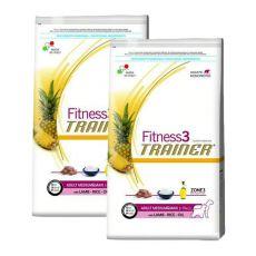 Trainer Fitness3 Adult MEDIUM MAXI - jehně s rýží 2 x 12,5 kg