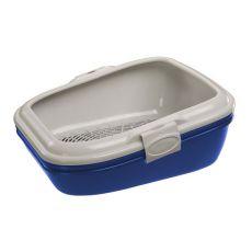 Toaleta pro kočky BIRBA modrá - 55,5 x 45,5 x 22,5 cm