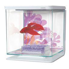 Akvárium MARINA Flower 2l, plastové