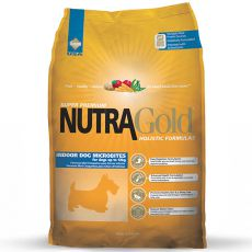 NUTRA GOLD HOLISTIC Indoor Adult Dog Microbite 7,5kg