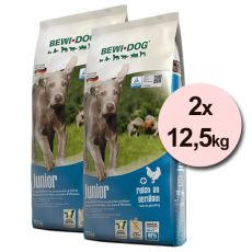 BEWI DOG JUNIOR 2 x 12,5 kg