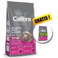CALIBRA Premium Puppy & Junior 12 kg + 3 kg