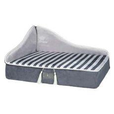 Pelech pro psy a kočky Prince sofa, šedý - 60 x 45 cm