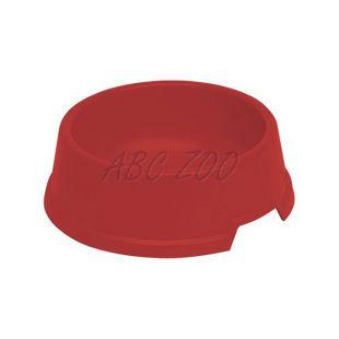Miska pro psa BUFFET 3 - plastová, červená, 700 ml
