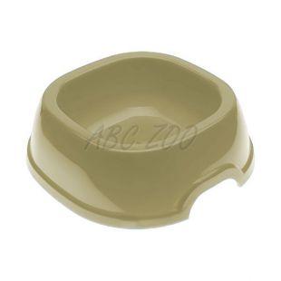 Miska pro psa SNACK 2 - plastová, šedá, 350 ml