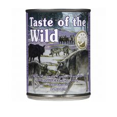 TASTE OF THE WILD Sierra Mountain Canine - konzerva, 390 g