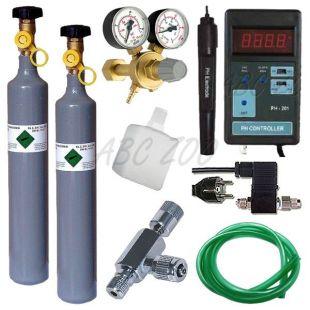 CO2 profesional set + náhradní láhev 500 g + pH Controller