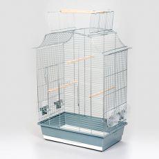 Klec pro papoušky GRETA CABRIO CHROM - 45 x 27 x 65cm