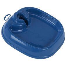 Miska na vodu TOTA 1 - plastová, modrá 22 x 22 x 5 cm