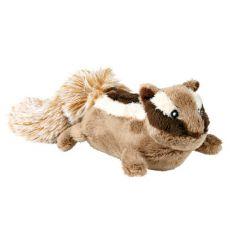 Plyšová hračka pro psa - veveruška, 23 cm
