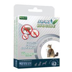 MAX BIOCIDE Antiparazitní obojek pro kočky - 42 cm