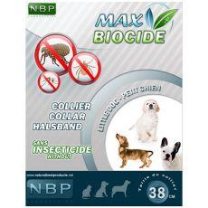 MAX BIOCIDE Antiparazitní obojek pro malé psy- 38 cm