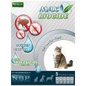 MAX BIOCIDE Antiparazitní kapky pro kočky, 5 ks
