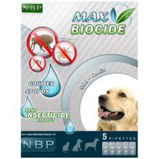 MAX BIOCIDE Antiparazitní kapky pro psy, 5 ks