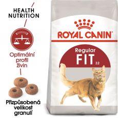 Royal Canin FIT 32 - krmivo pro dospělou kočku 15 kg